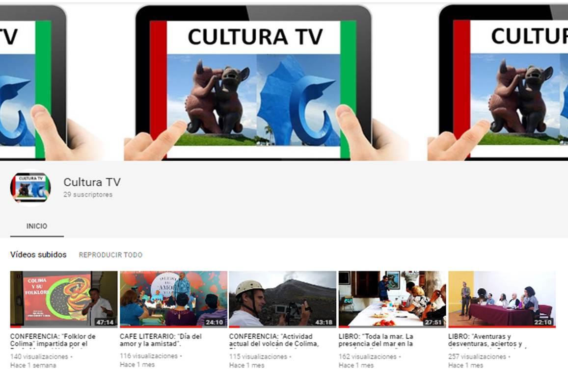 "CANAL: ""CULTURA TV"""