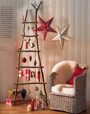Χριστουγεννιάτικη διακόσμηση σπιτιού με φυσικά υλικά-3
