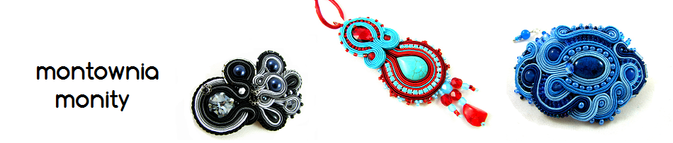 montownia monity hand embroidered jewelry sutasz soutache