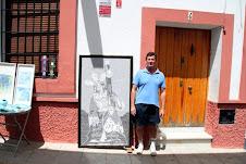 Los trabajos artísticos realizados por Manuel Brito Flores, en el arte del mosaico.