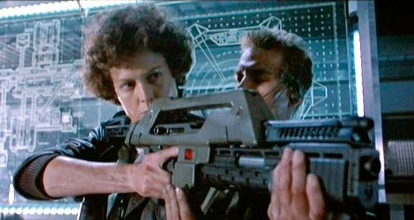 Sigourney Weaver como Ellen Ripley en Aliens