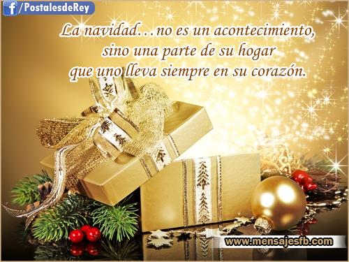 Dedicatorias con frases navideñas - Mensajes para Amor | Postales ...