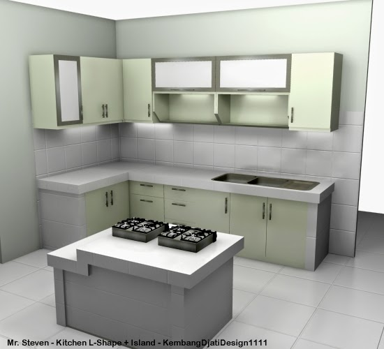furniture semarang desain kitchen set minimalis