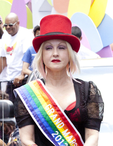 cyndi lauper gay