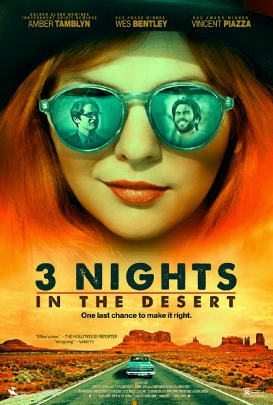 3 Nights in the Desert 2015 poster