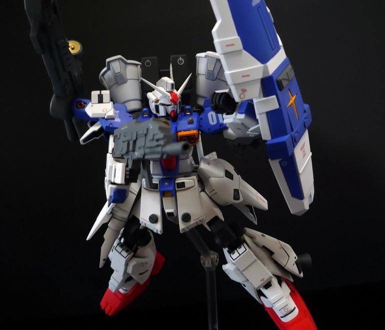 HGUC 1/144 GP01Fb (Enhanced) - Customized Build