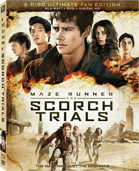 Maze Runner: The Scorch Trials (Maze Runner: Prueba de Fuego) (2015) 1080p BluRay REMUX 27GB mkv Dual Audio DTS-HD 7.1 ch