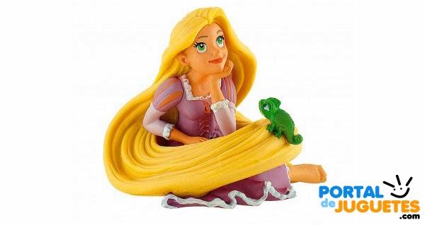 figura rapunzel sentada bullyland enredados