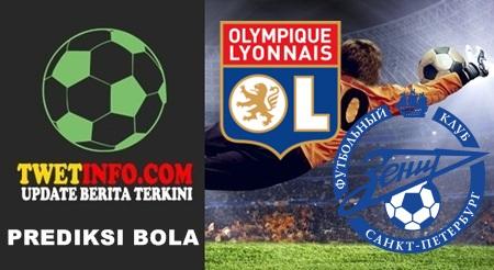 Prediksi Olympique Lyonnais vs Zenit