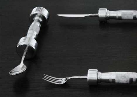 dumbbell-cutlery