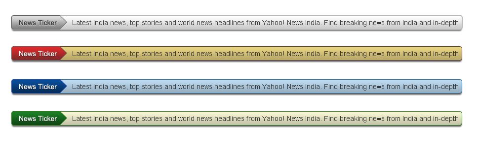How to Create a News Ticker The Blog