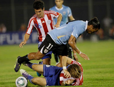 Paraguay 1 - 1 Uruguay