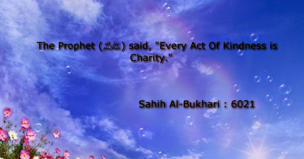 charity act of kindness
