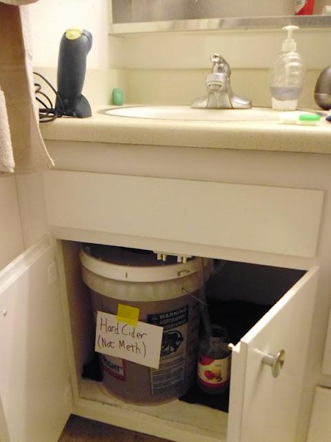 Fermenter under sink