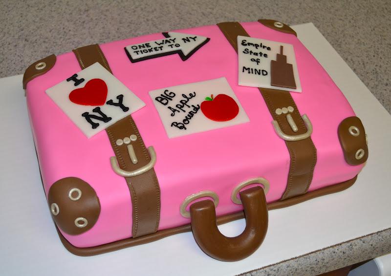 Sweetcakern Suitcase Cake