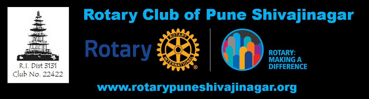 Rotary Club of Pune Shivajinagar - Rotary Making a Difference