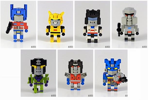 Minirobots transformers - Lego