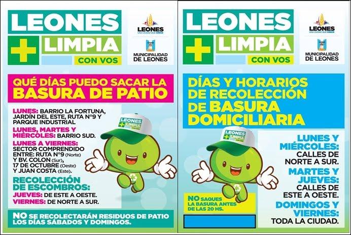 POR UN LEONES MÁS LIMPIO ....