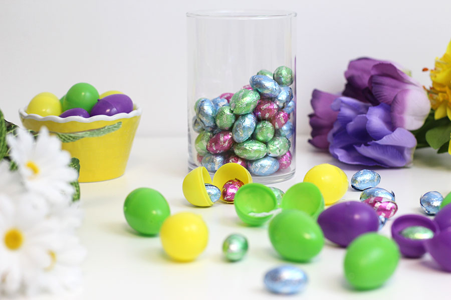 easter egg hunt with a twist