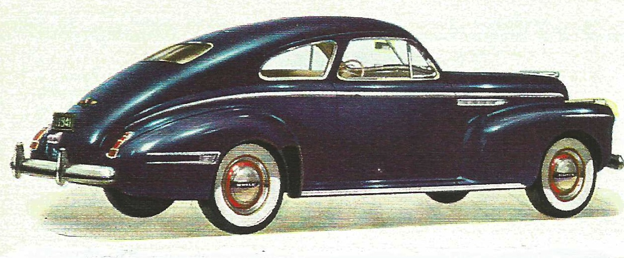Old cars canada 1941 mclaughlin buick special for Mclaughlin motors used cars