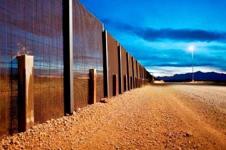 Σύνορα μεταξύ ΗΠΑ και Μεξικού