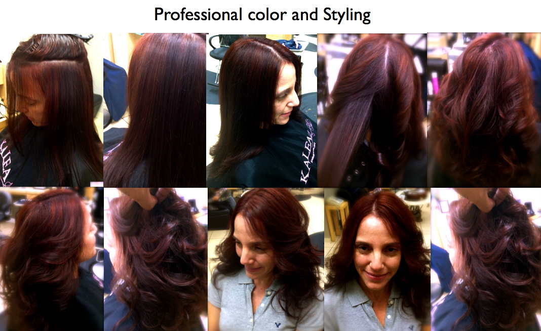 Do it yourself-Haircolor: Home hair color VS Professional coloring ...
