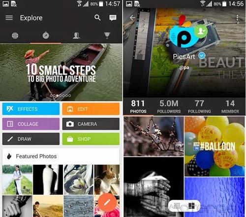 PicsArt Photo Studio Aplikasi Foto Terbaik Untuk Android