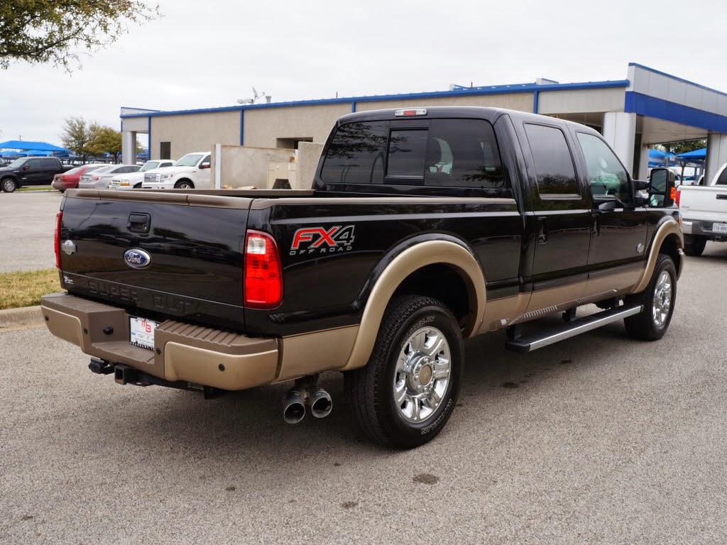 2014 Ford F250 Diesel $48,991 - 2012 ford f-250 king