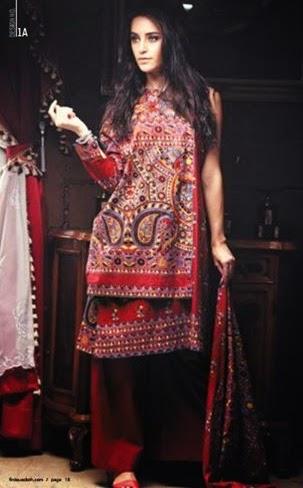 Firdous Cambric Dress Collection-15