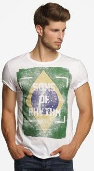 Esprit camiseta Mundial Brasil
