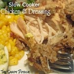 Chicken & Dressing: Slow Cooker