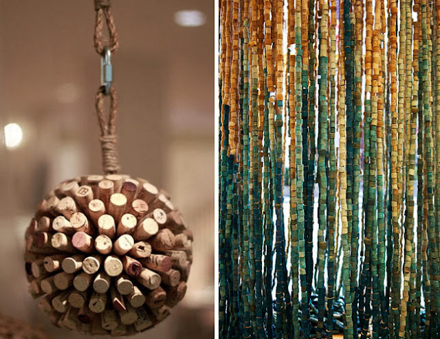 Of dots things cork art for Cool things to do with wine corks
