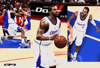 NBA 2K13 Chris Paul Cyberface NBA 2K Patch