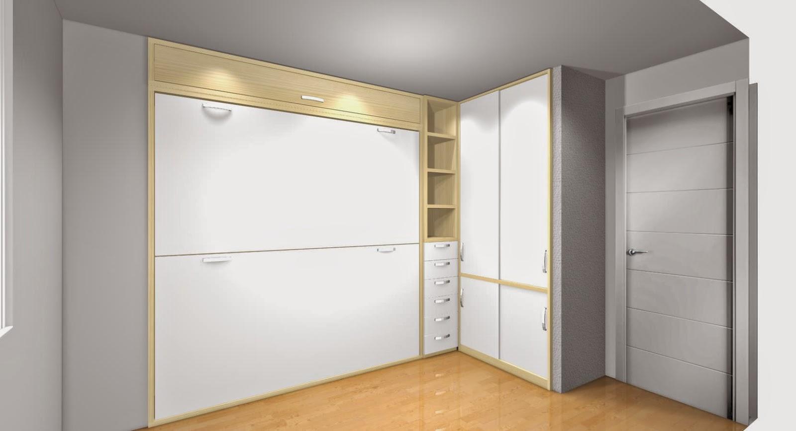 Literas abatibles una apuesta segura para ahorrar espacio - Armarios de dormitorio merkamueble ...