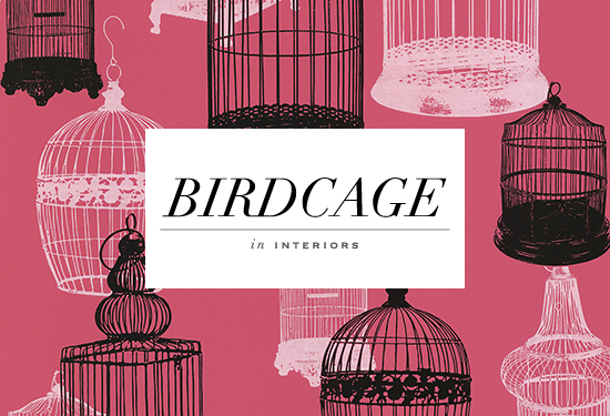 Avian Birdcages Wallpaper by Kenneth James