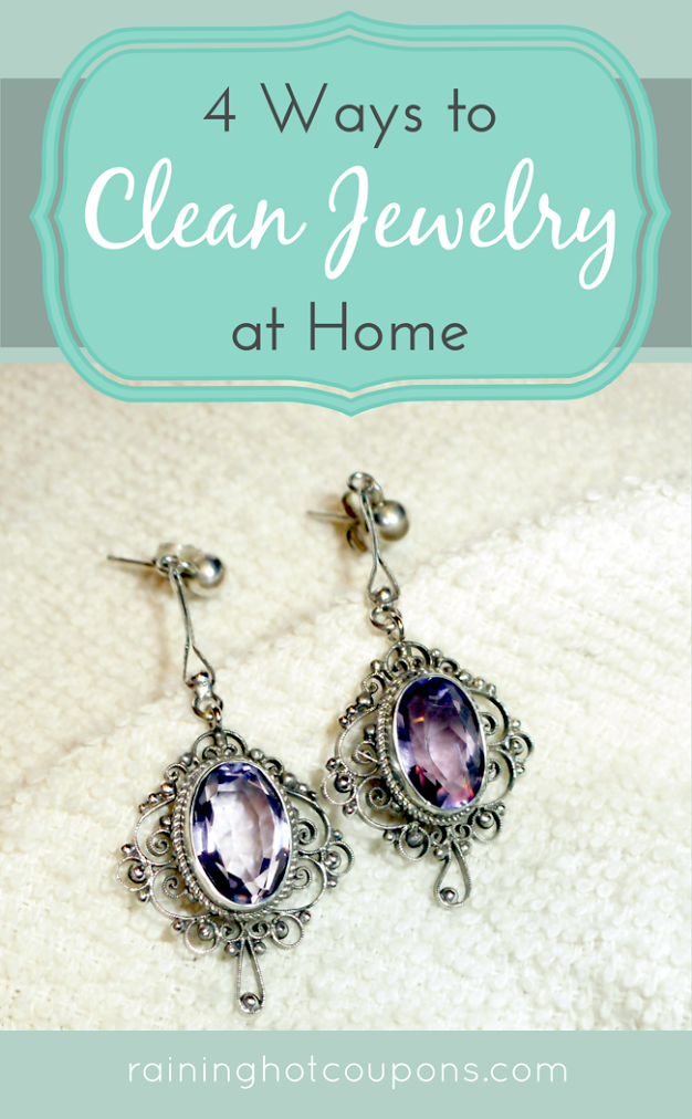 Four Ways To Clean Jewelry At Home