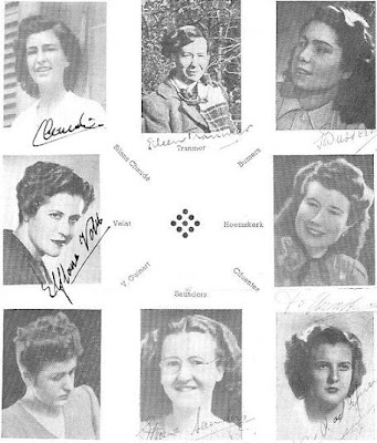 Judadoras del Torneo Internacional de Ajedrez Femenino Barcelona 1949