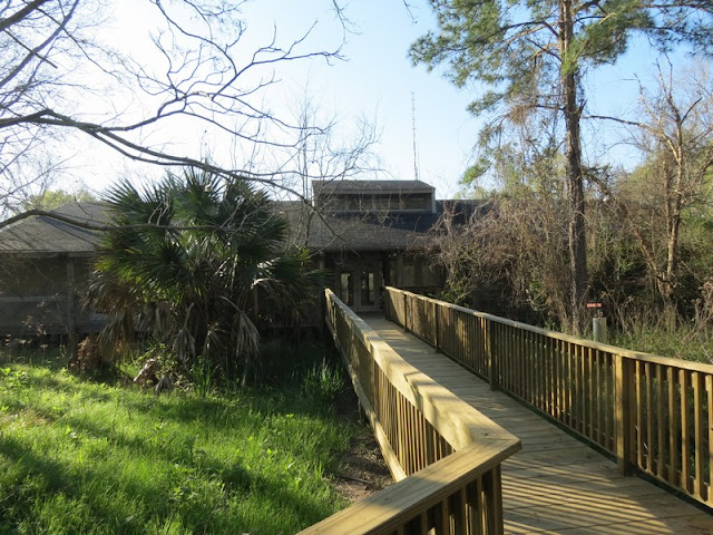 Interpretive Building at Armand Bayou Nature Center.