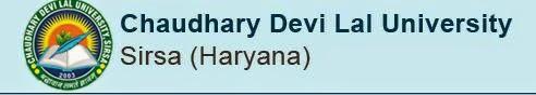 Chaudhary Devi Lal University Sirsa 2014 Result