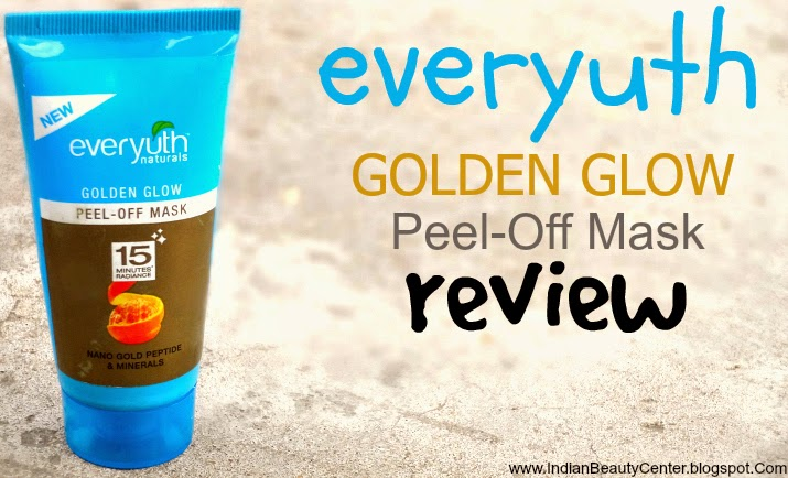 Everyuth Naturals Golden Glow Peel-Off Mask Review