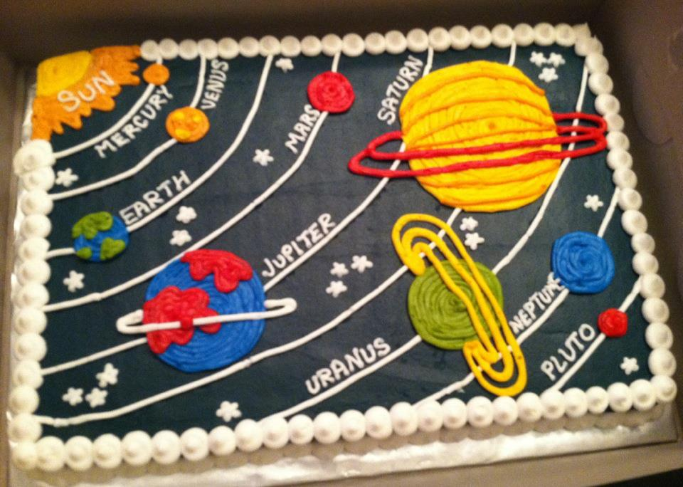 Planet Cake Images : Sweet Treats by Susan: Outerspace/Planet Cake