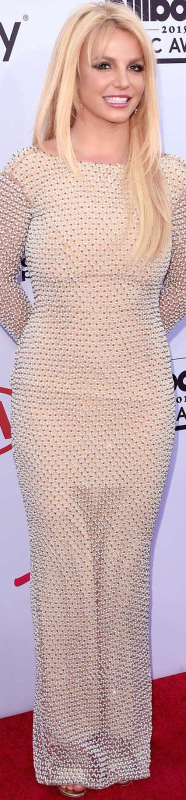 2015 Billboard Awards Britney Spears Red Carpet