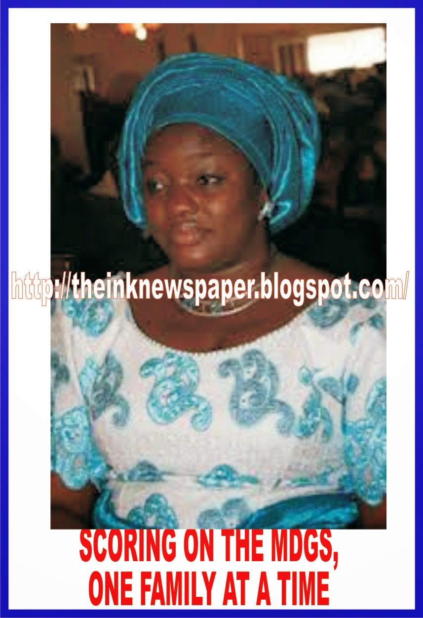 Scoring on the MDGs, One Family at a Time BY KOKO UDONQUAK