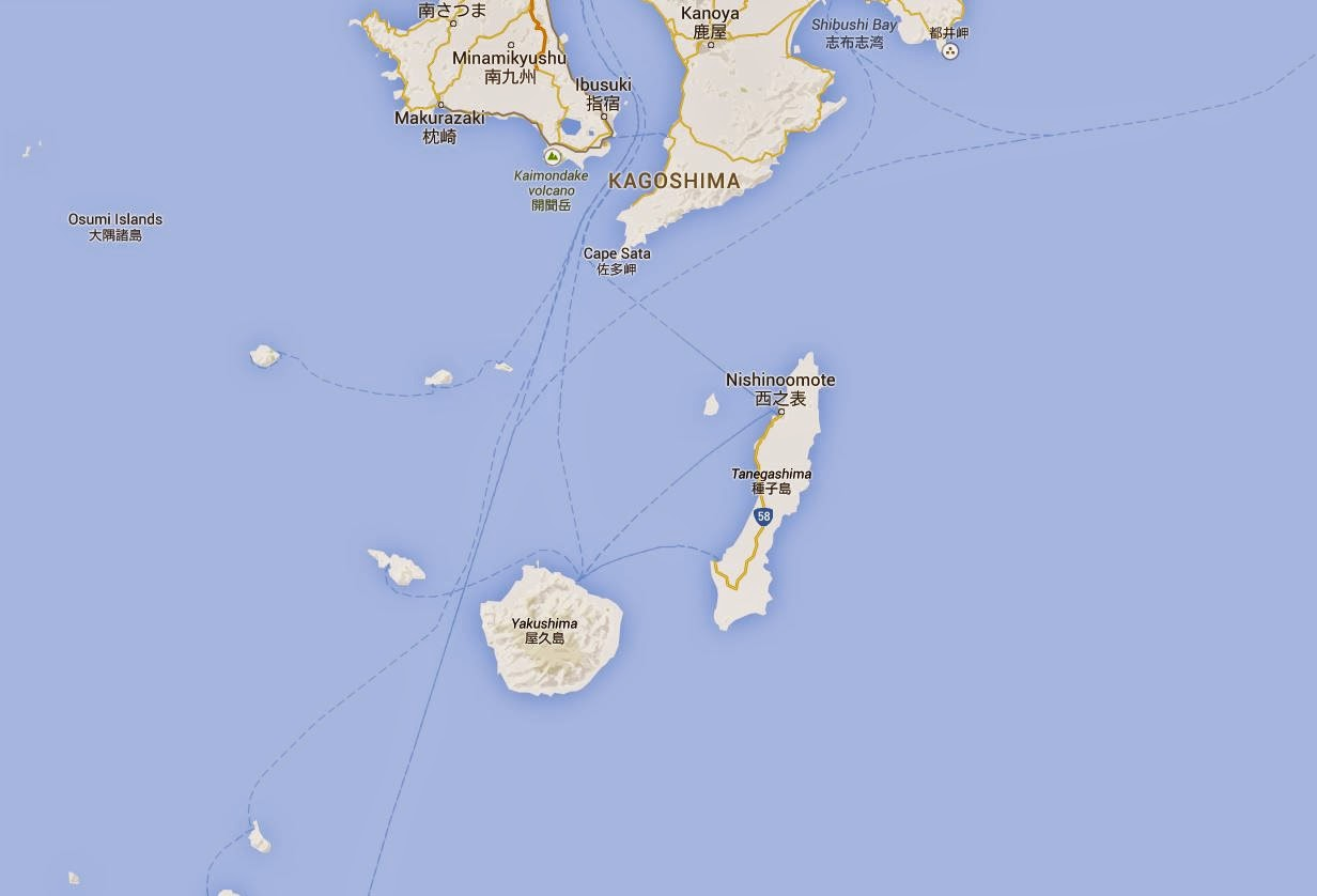 Sea Kayaking A Trip To Yakushima Island Southern Japan - Japan map yakushima