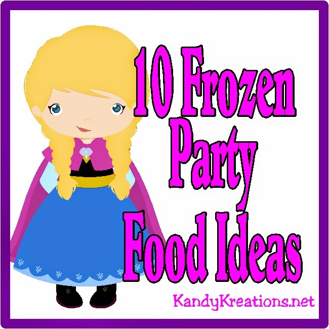 Make your Frozen party simple, fun, and easy by using foods kids love.  Just add fun themed names to your food to keep the theme and fun of the Frozen party alive.  Here are ten great food ideas for your Frozen party.