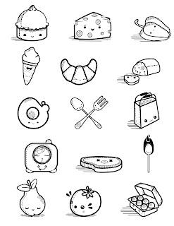 Dibujos de Comida