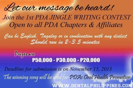 1st PDA Jingle Writing Contest