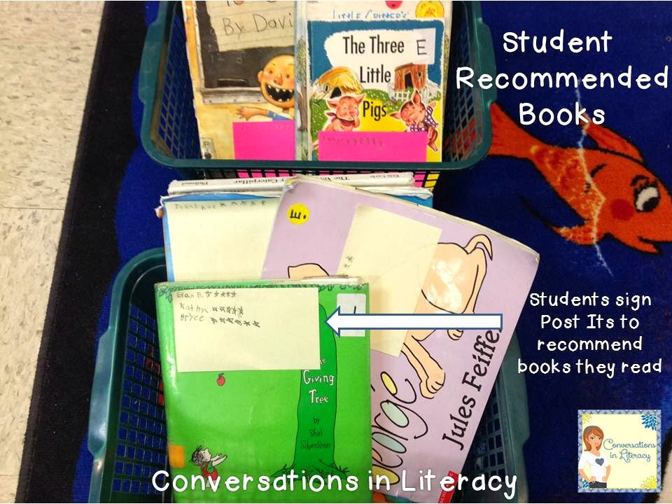 build a love of reading and conversations about books