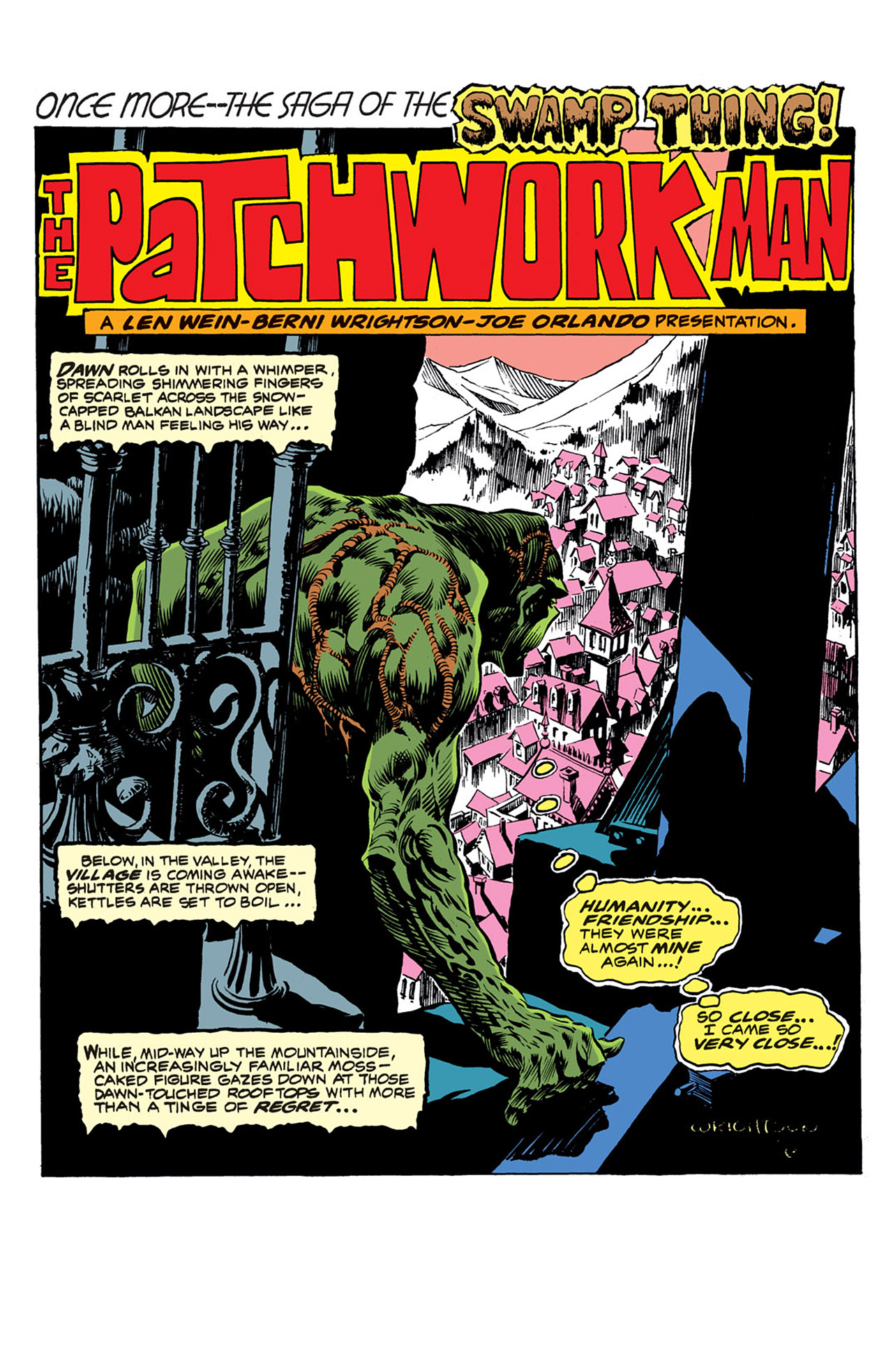 Swamp Thing (1972) Issue #3 #3 - English 2