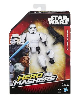 TOYS : JUGUETES - STAR WARS : Hero Mashers  Stormtrooper | Figura - Muñeco  Producto Oficial Película Disney 2015 | Hasbro B3662 | A partir de 4 años Comprar en Amazon España & buy Amazon USA